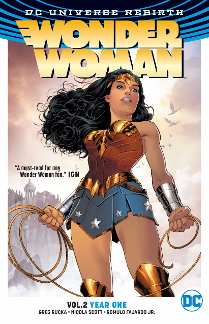 "Comics journey #5: Wonder Woman Rebirth – ""The Lies"" and ""Year One"""